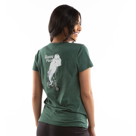 PEARL iZUMi Graphic T-shirt Femme, heather pine happy pace